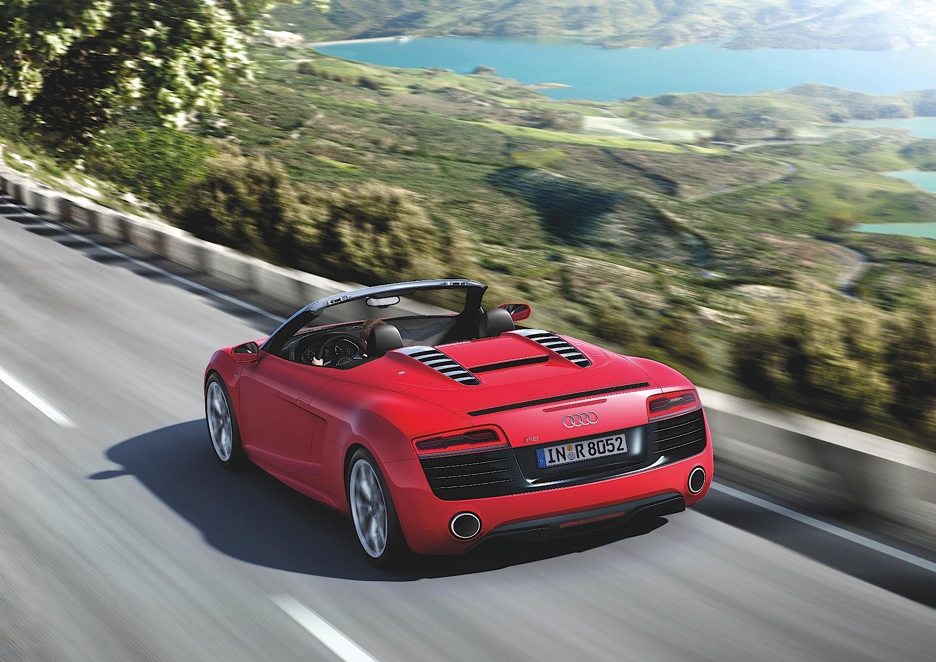 AUDI R8 V10 Spyder specs & photos - 2010, 2011, 2012, 2013, 2014, 2015, 2016 - autoevolution