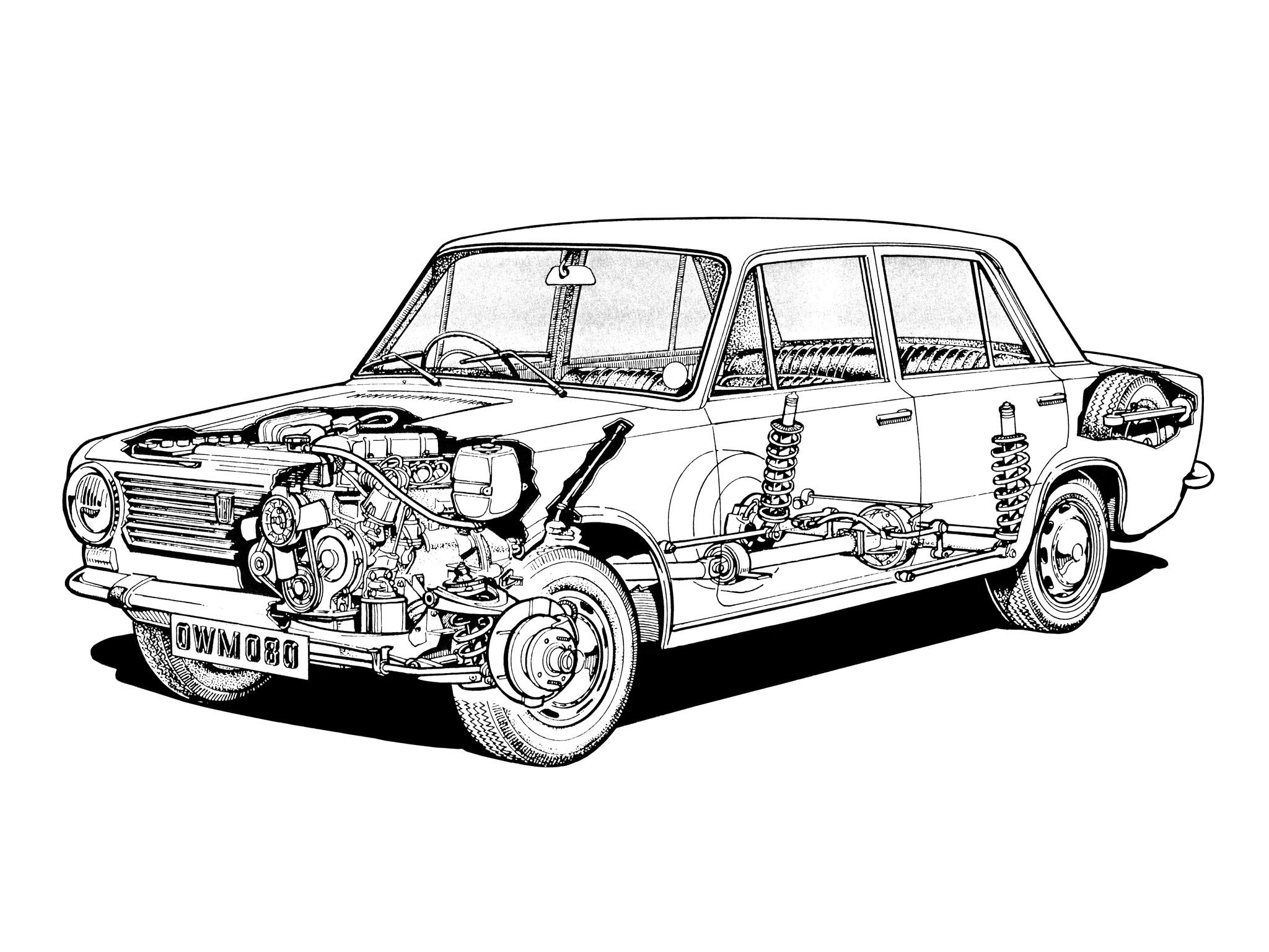 Fiat 124 Saloon