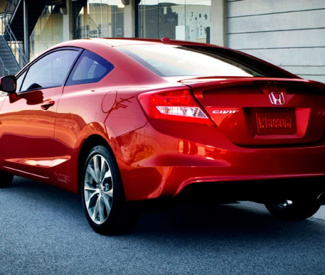 Honda Civic Coupe Si 2012 2015