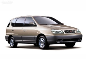 KIA Carens  2000, 2001, 2002  autoevolution