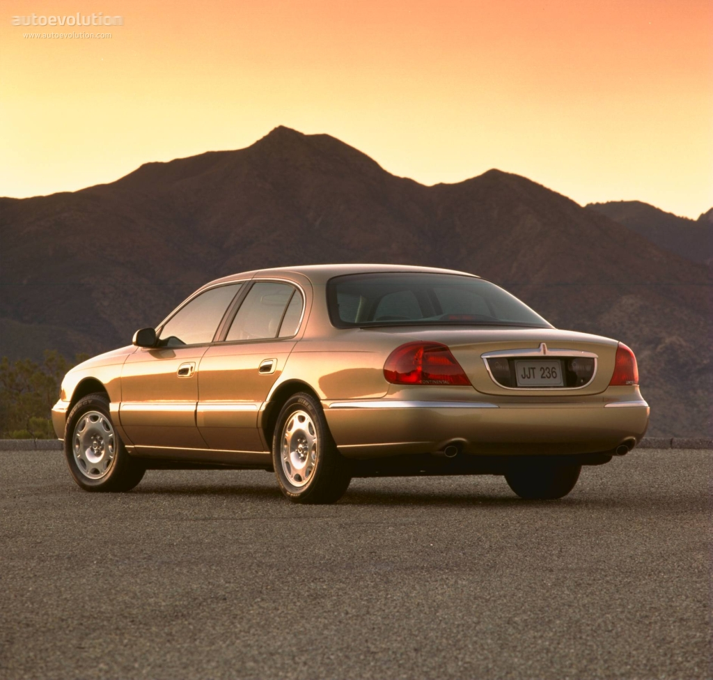 Lincoln Continental Specs Amp Photos 1995 1996 1997