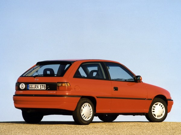 OPEL Astra 3 Doors specs & photos - 1994, 1995, 1996, 1997 ...