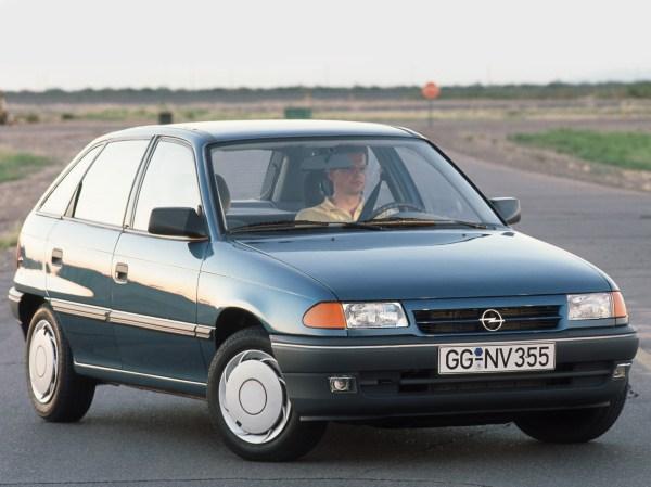 OPEL Astra 5 Doors specs & photos - 1991, 1992, 1993, 1994 ...