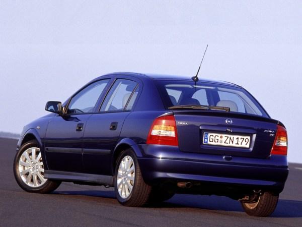 OPEL Astra 5 doors specs & photos - 1998, 1999, 2000, 2001 ...