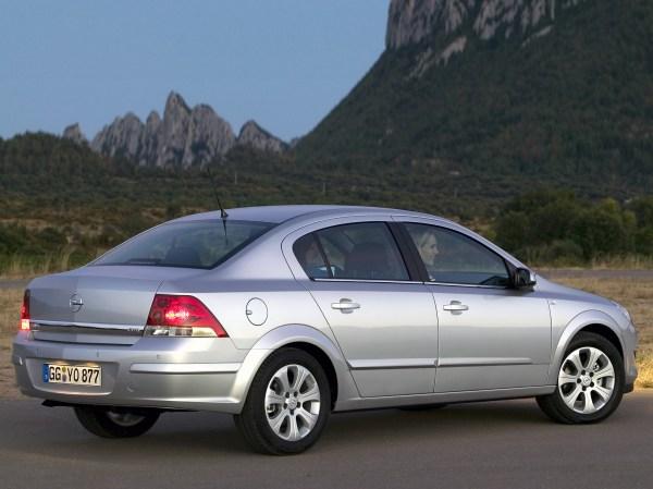 OPEL Astra Sedan specs & photos - 2007, 2008, 2009 ...