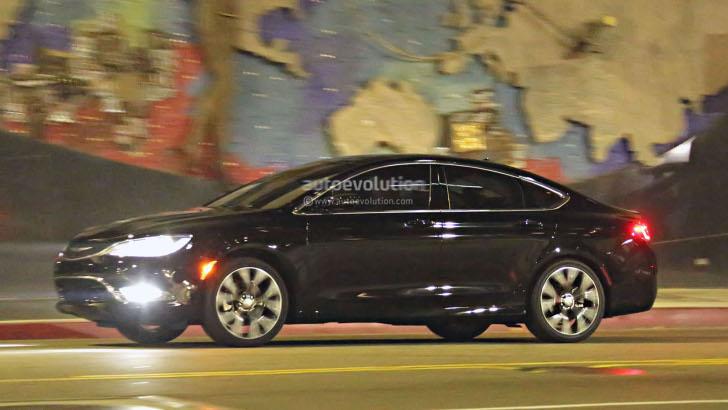 2015 Chrysler 200 Sedan Spy Photos Completely Reveal New