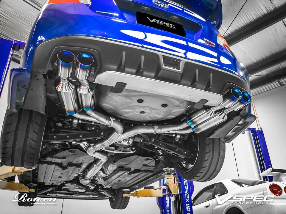 https www autoevolution com news 2015 subaru wrx sti gets titanium exhaust from rowen photo gallery 95270 html