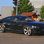 2018 Audi Rs5 Coupe Test Mule Spied In Audi S5 Coupe Overalls Autoevolution