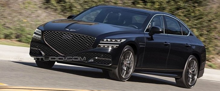 2020 Genesis G80 Could Look Like This Autoevolution