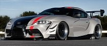 2020 Toyota Supra Gets the Viper ACR Treatment in Cool Rendering