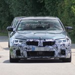 2021 Bmw M5 Makes Spyshots Debut 5 Series Shed Some Camo Autoevolution