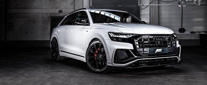 abt gives audi q8 carbon seats 330 hp