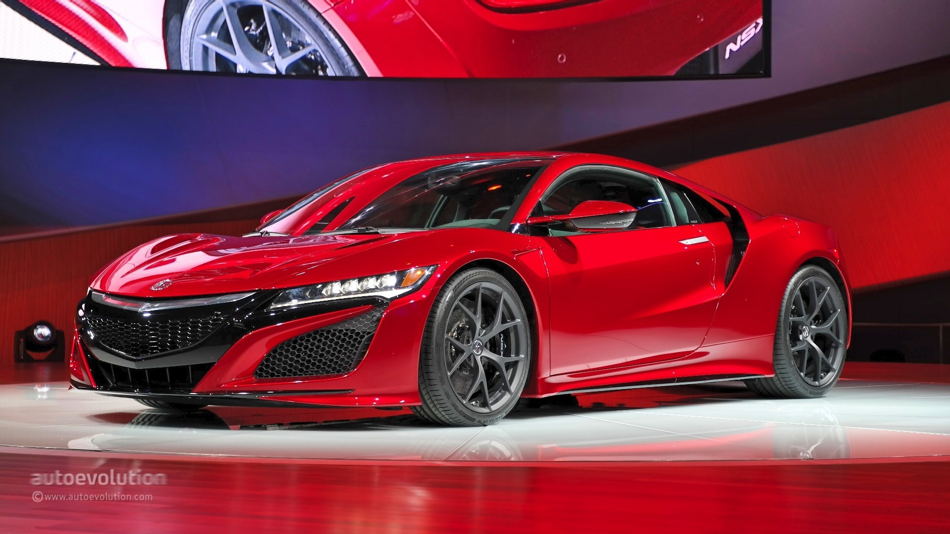Acura Releases New Tech Details About The 2016 NSX
