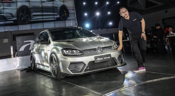 ASPEC PPV400 Is A 400 HP Golf R From China That Looks Like