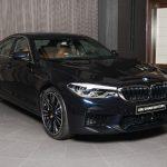 Azurite Black 2018 Bmw M5 Shows Off In Abu Dhabi Autoevolution