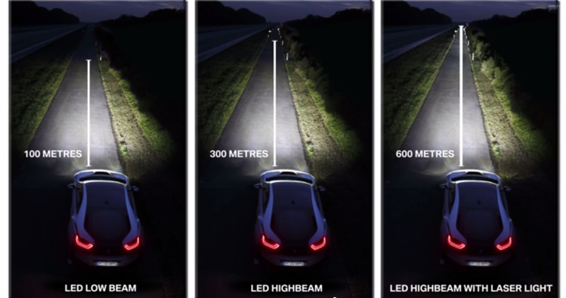 bmw smart headlights