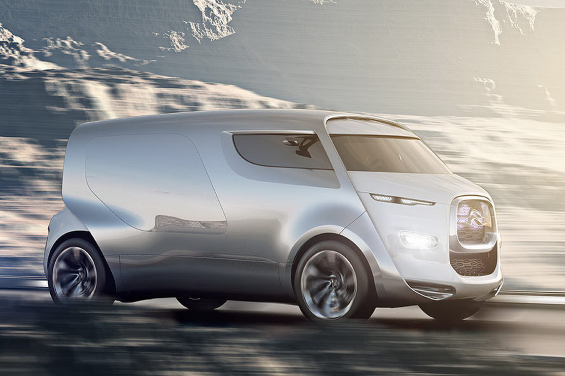 Citroen Expresses Its Love For Vans With Tubik Concept