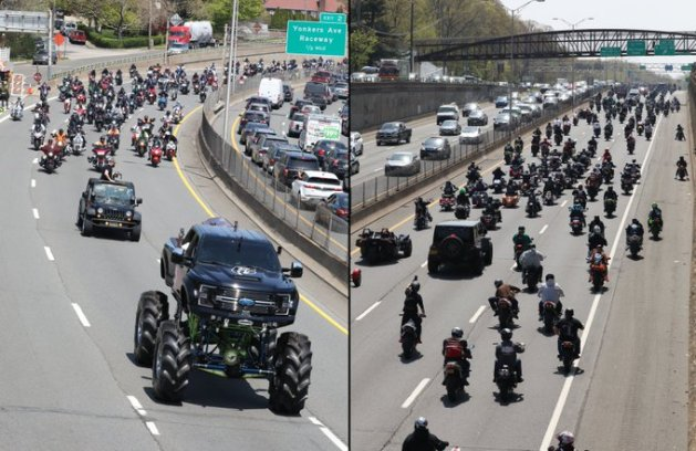 DMX Gets a Legend's Sendoff With Ford Monster Truck, Ruff Ryders Parade - autoevolution