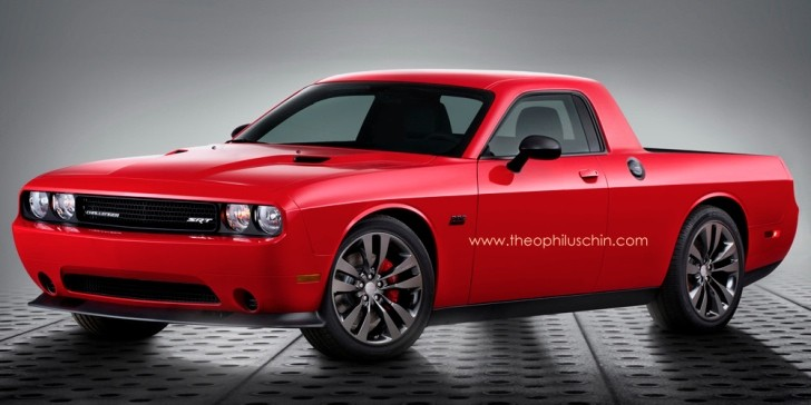 Dodge Challenger Pickup Truck Rendering Is Cool