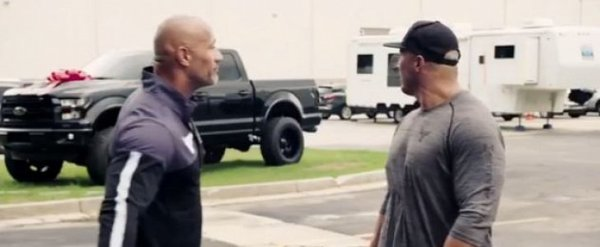 Dwayne Johnson Buys Custom Ford F-150 as Surprise Gift for ...
