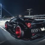 Ferrari 458 Spider With Liberty Walk Kit And Candy Apple Red Wheels Is A Paradox Autoevolution