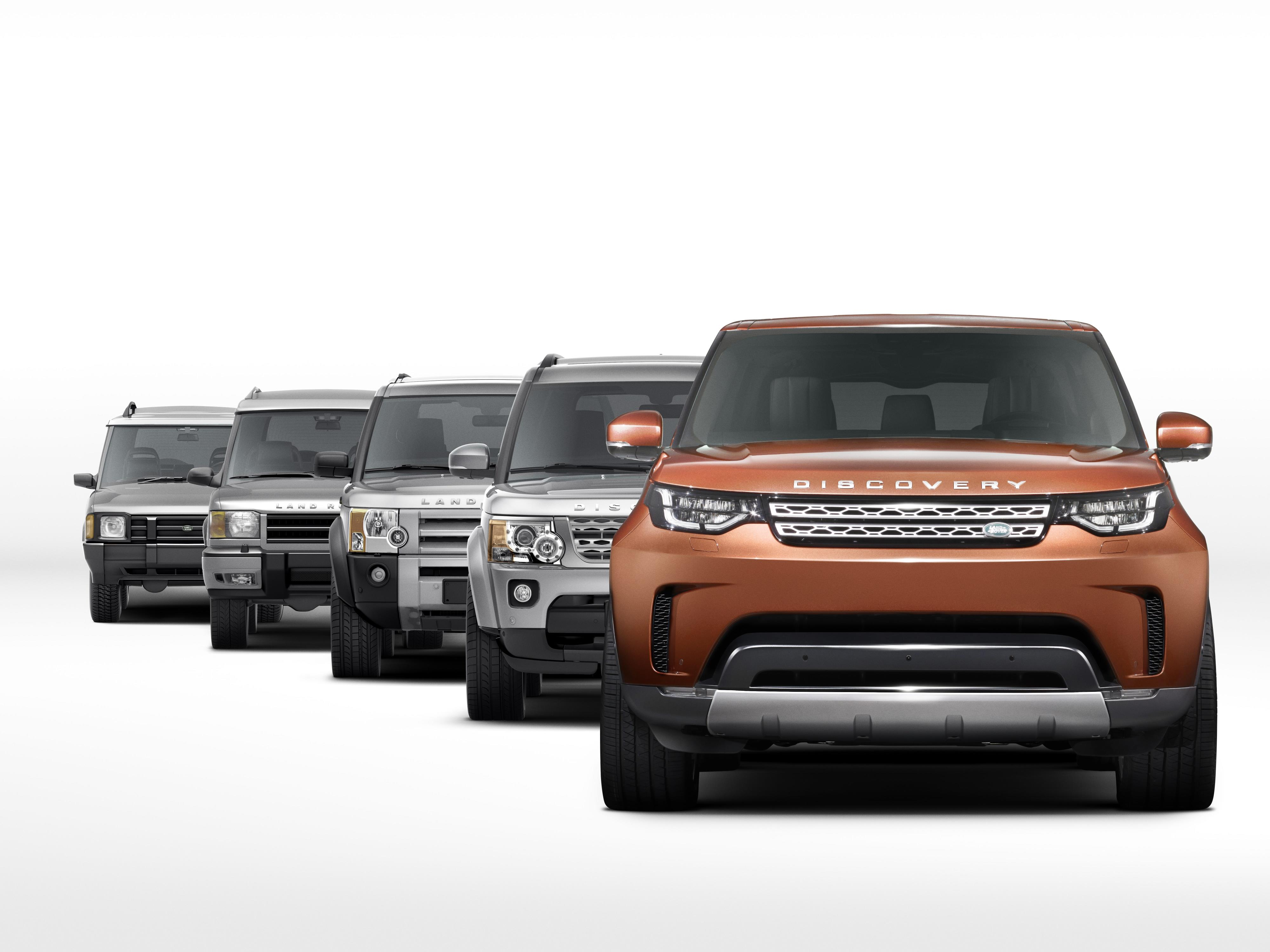 First ficial s of 2017 Land Rover Discovery 5 Reveal