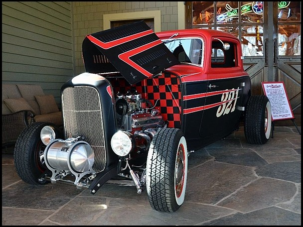 Ford 3 Window Coupe Hot Rod Auctioned For Charity