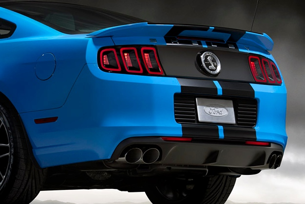 ford racing launches quad tip exhaust