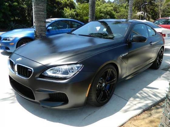 Frozen Black 2014 BMW F13 M6 Up For Grabs In California