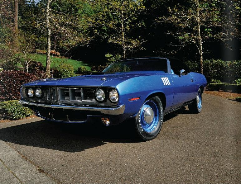1971 Plymouth HemiCuda Convertible