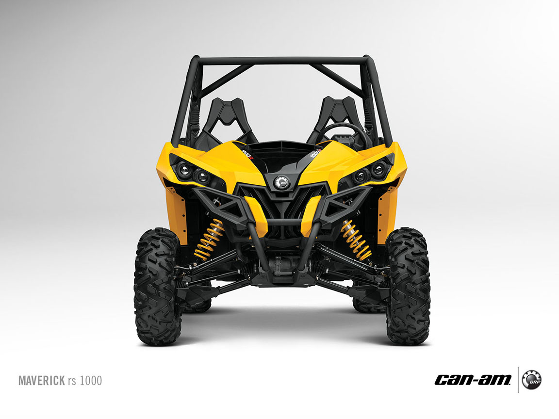 2013 Can Am Maverick RS 1000 The Off Road SxS Menace