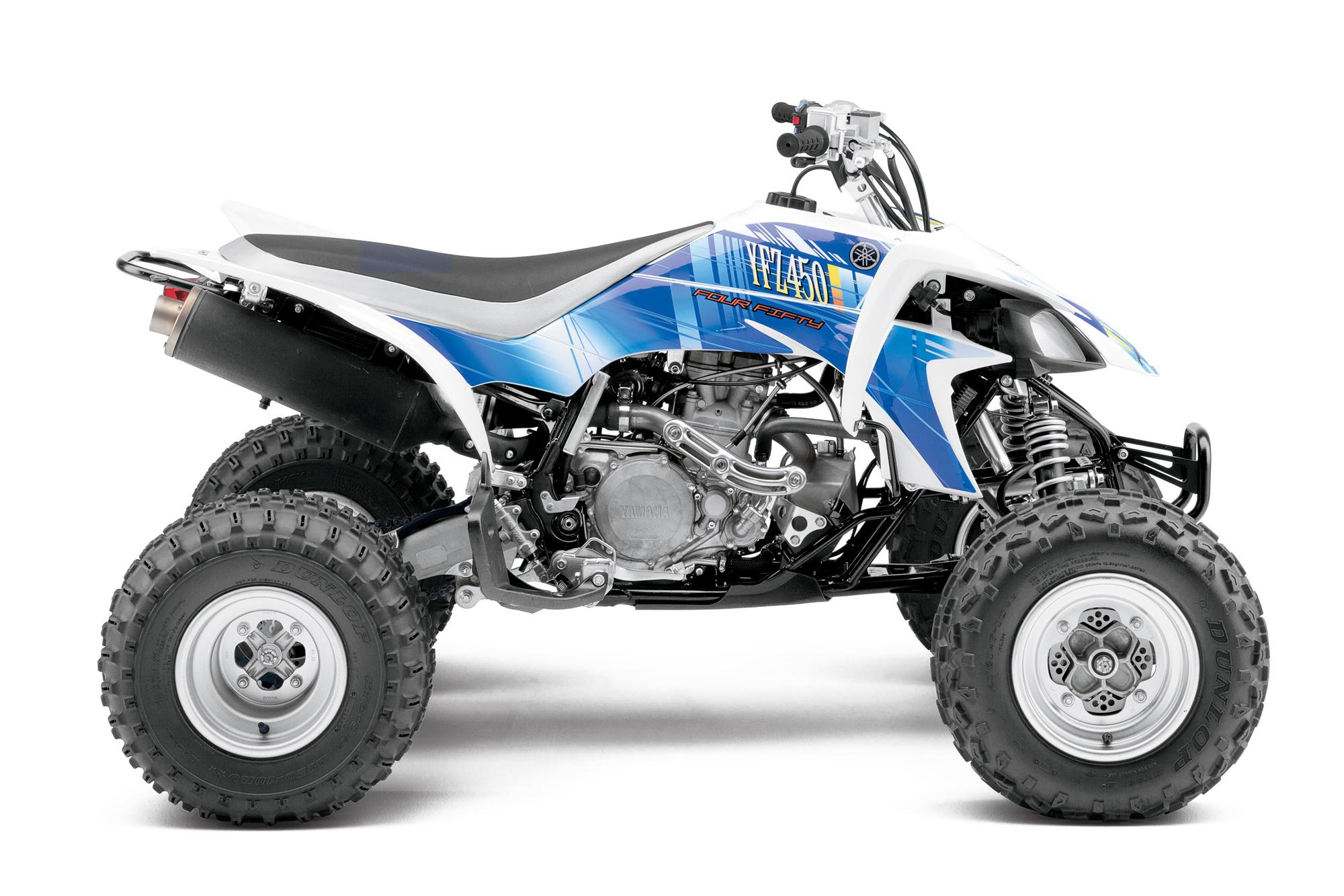 Yamaha Yfz450 The Atv Motocross Standard