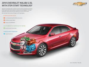 2014 Chevy Malibu With StopStart Gets 14% Better City Mileage  autoevolution