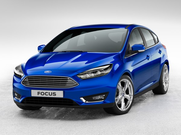 2014 Ford Focus Facelift Hatchback: First Official Photos ...