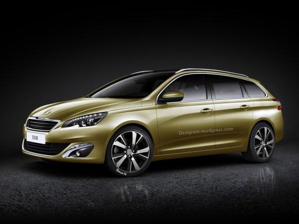 2014 Peugeot 308 SW Rendered - autoevolution