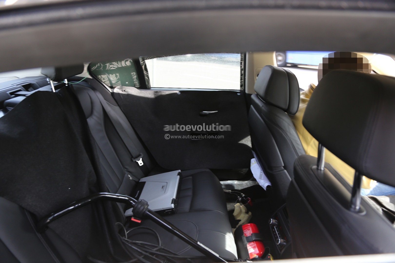 2016 BMW 7 Series Interior Spied For The First Time