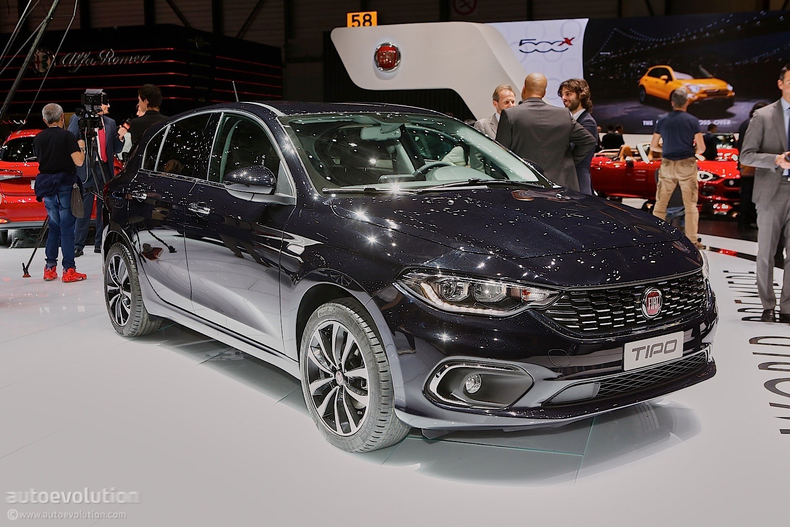 The return of the unmistakable abarth roadster, born in collaboration with the racing team experience. 2016 Fiat Tipo Hatchback Priced at €12,750 in Italy