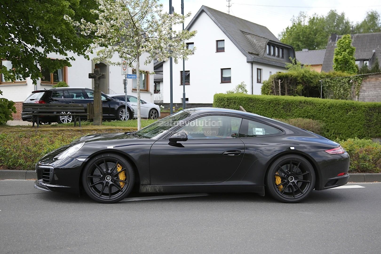 2016 Porsche 911 Revealed In Latest Spyshots Facelift