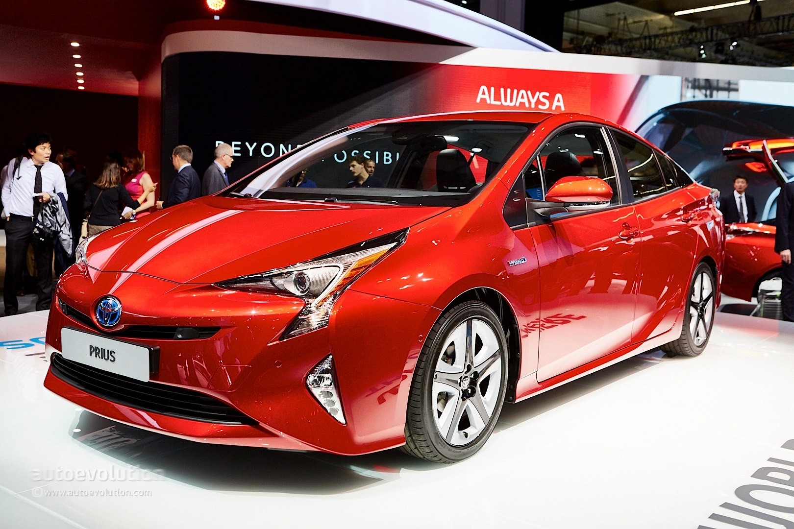 2016 Toyota Prius Comes To Frankfurt Reminds Us Its Oh