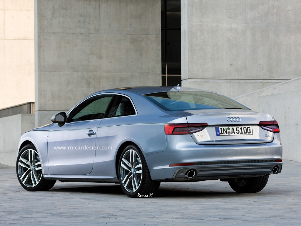 2017 Audi A5 Rendered Again We Can See Audi A4s
