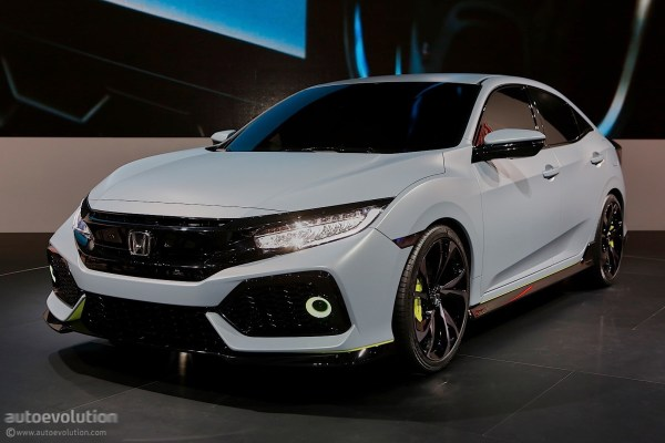 2017 Honda Civic Hatchback Previewed by Concept in Geneva ...