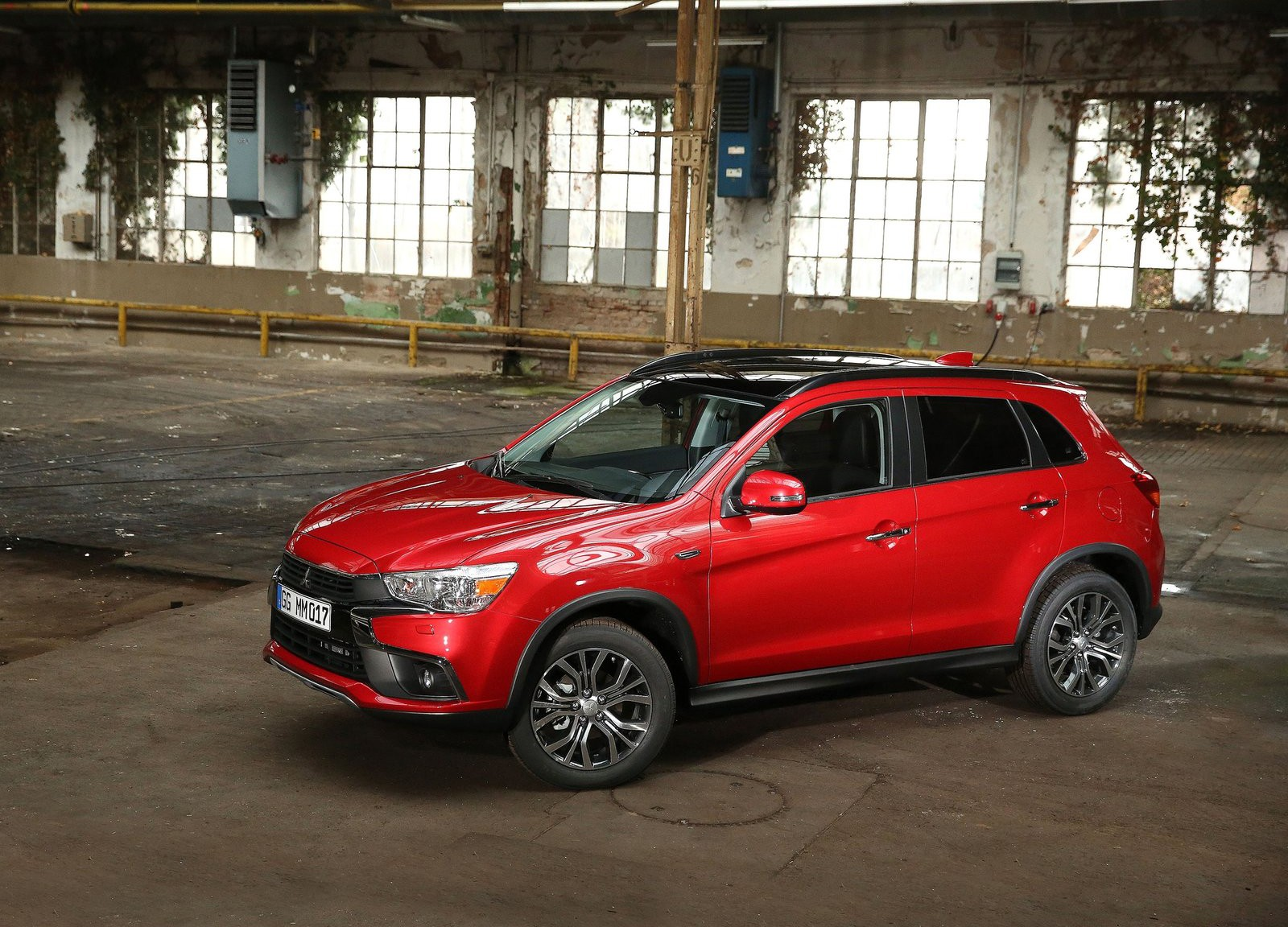 2017 Mitsubishi ASX Facelift Gets Dynamic Shield Design