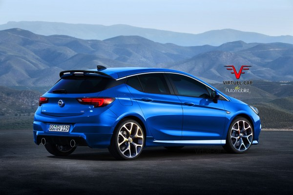 2017 Opel Astra OPC Gets Rendered, Proves Hot Hatches Are ...