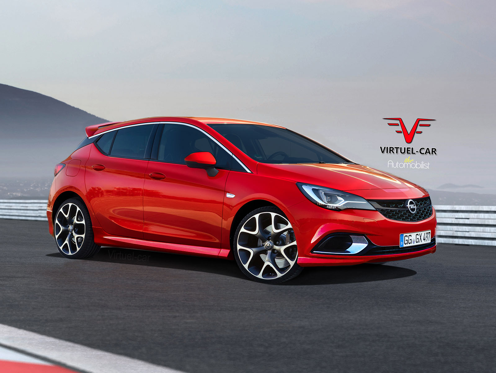 2017 Opel Astra OPC Gets Rendered Proves Hot Hatches Are