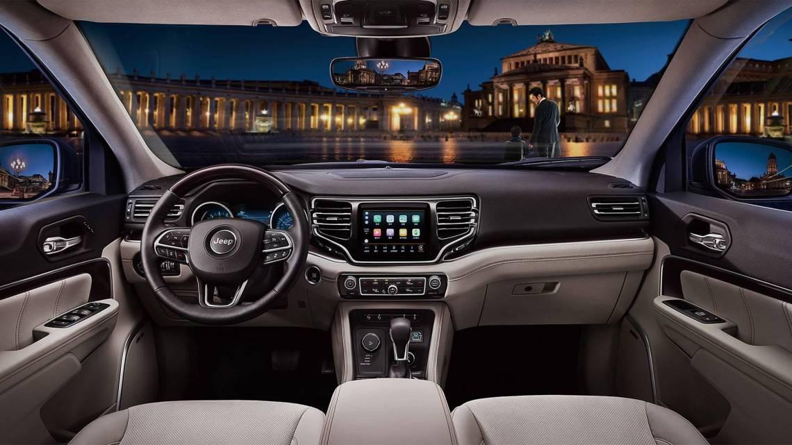 2018 jeep commander interior design showcased in new photos
