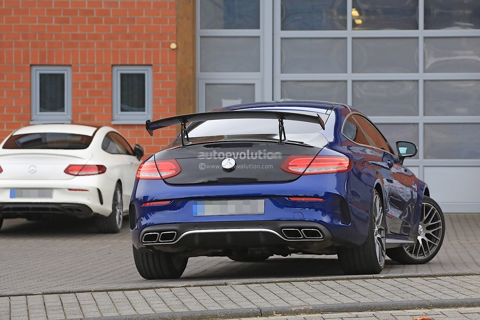 2018 Mercedes AMG C63 R Coupe Comes To Crash The BMW M4