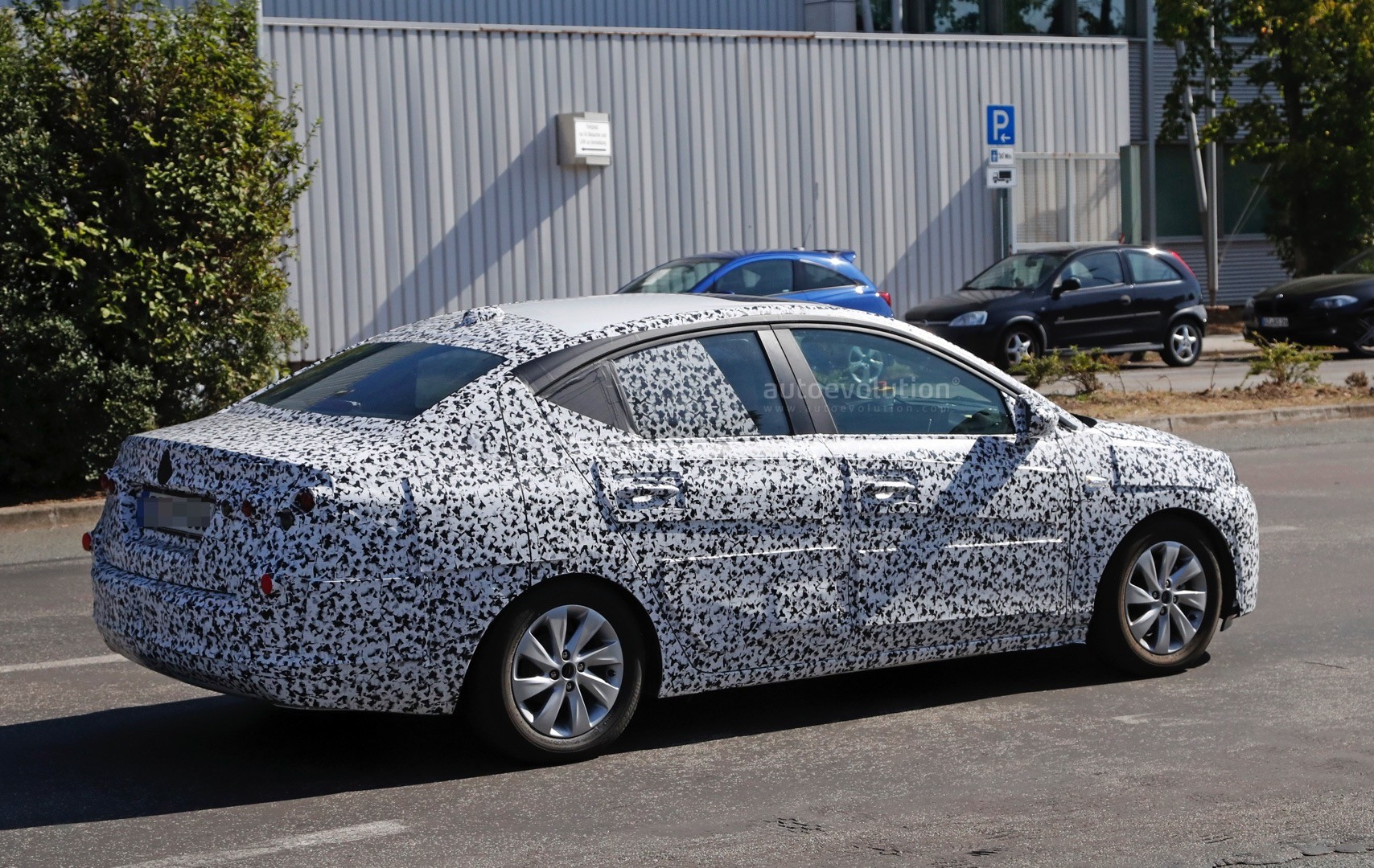 2018 Opel Corsa F Sedan Spied To Be Launched In China As