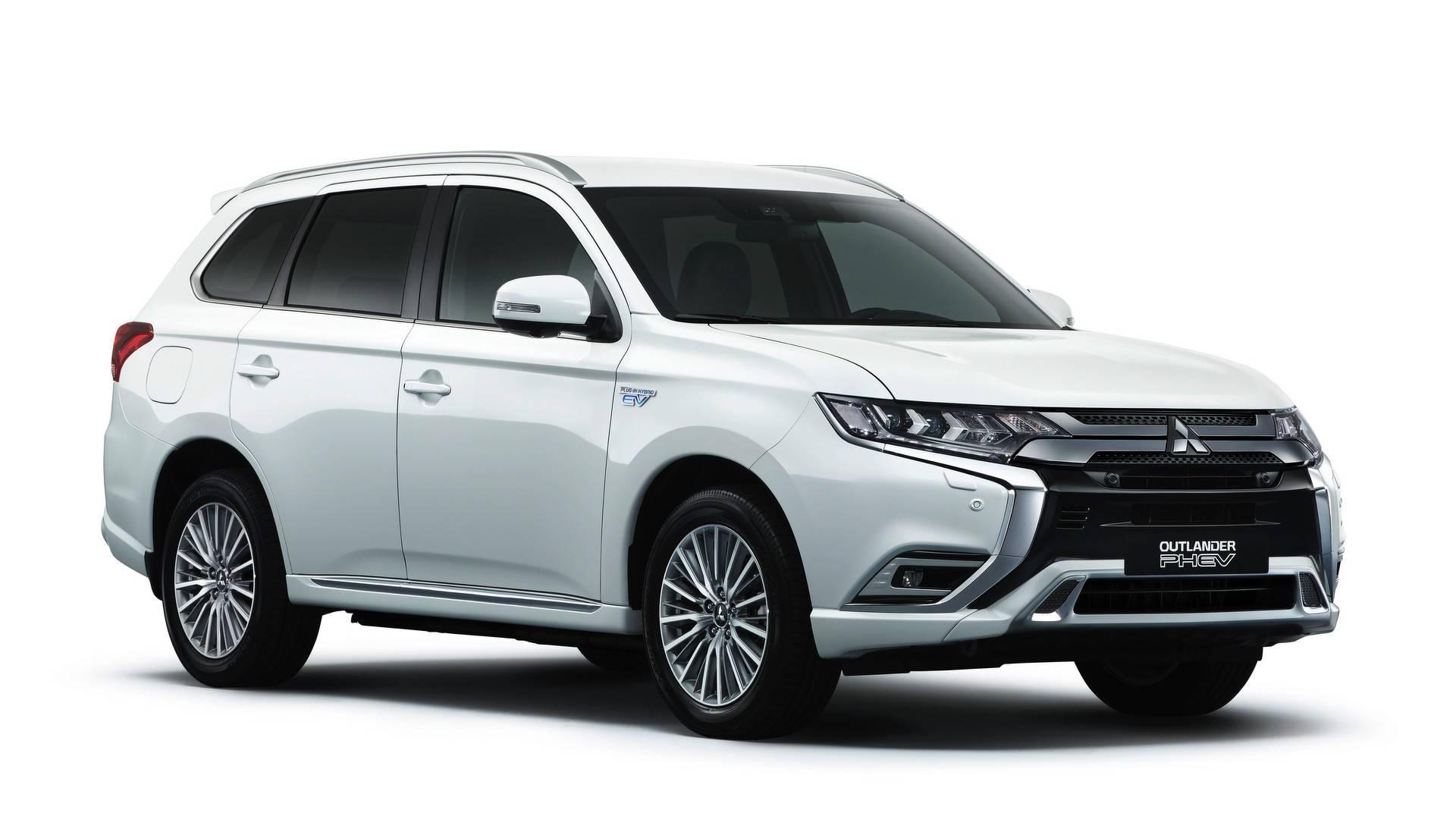 2019 Mitsubishi Outlander PHEV WLTP Rated 45 Kilometers Of