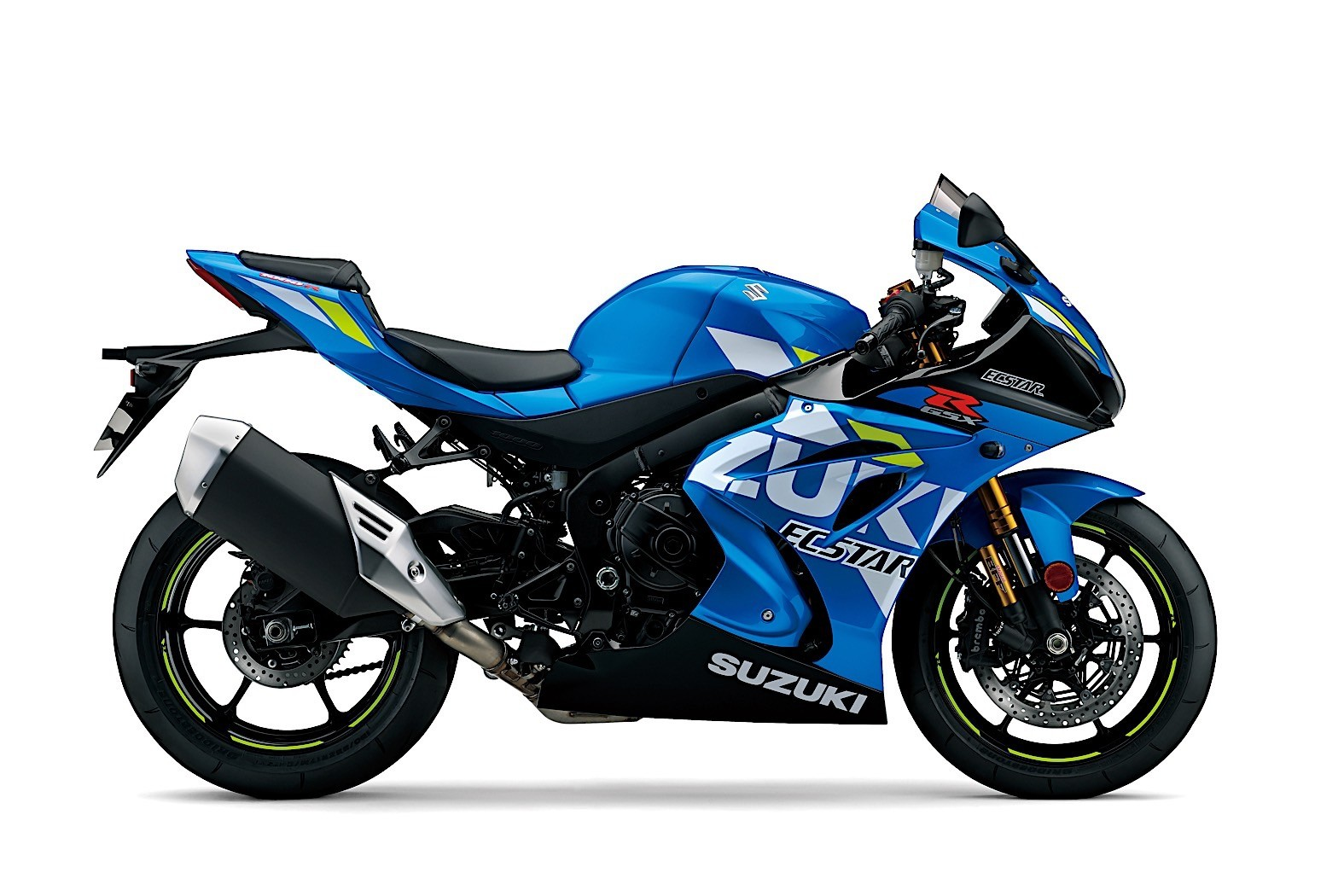 2019 Suzuki Motorcycles Shine in New Colors at the