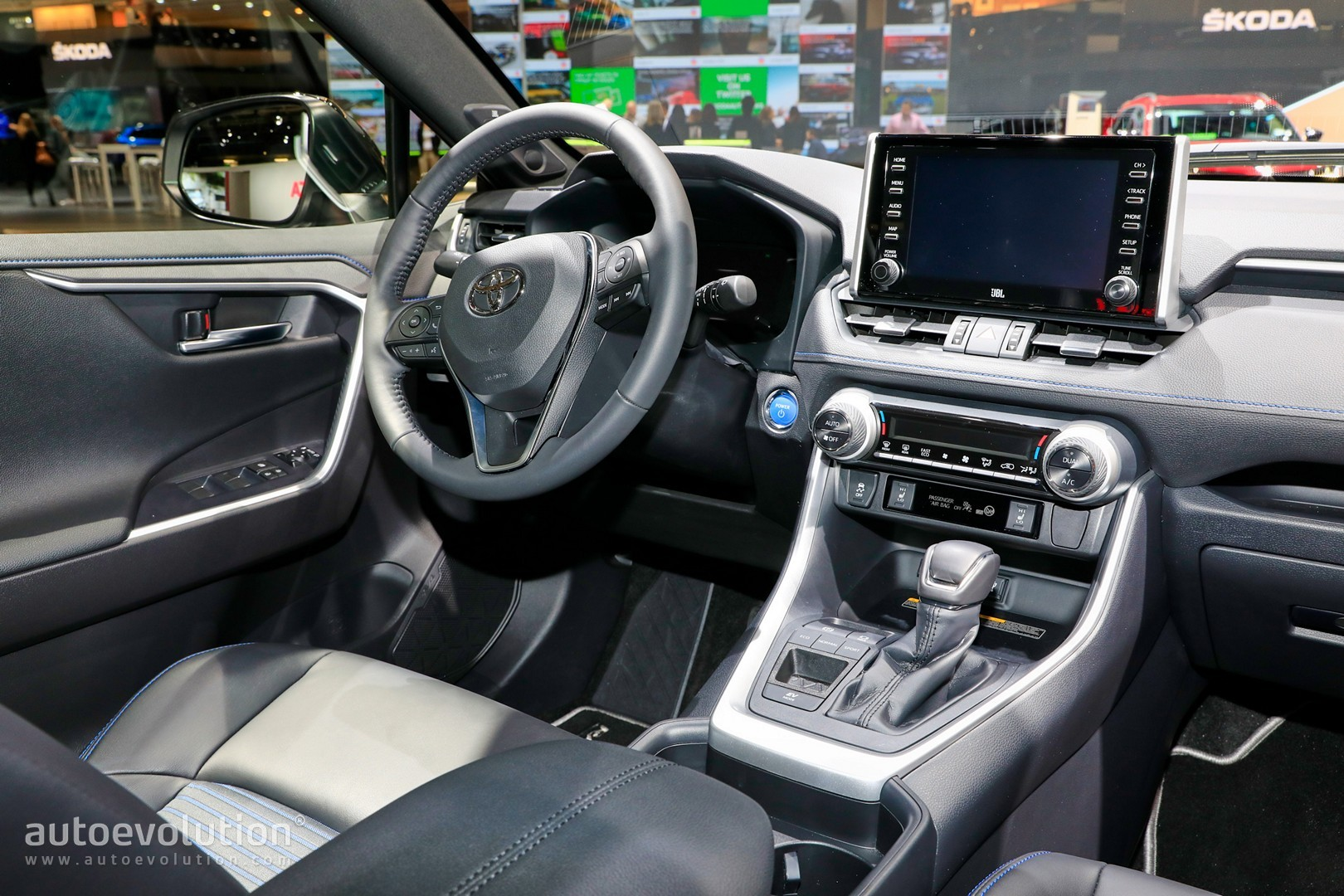 2019 Toyota RAV4 Makes Hybrid Production Debut In Paris